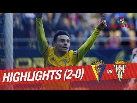 Resumen de Cádiz CF vs Córdoba CF (2-0)