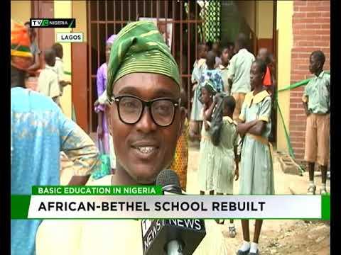 African-Bethel School Rebuilt