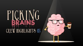 Picking Brains Podcast: Vampires Vs Clowns | #1