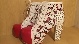 "DIY - Jeffrey Campbell/Hello Kitty inspired ""Litas"" Thumbnail"