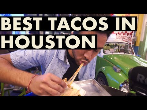 I Tried To Find The Best Taco In Houston . . . Ft. DudeBRD