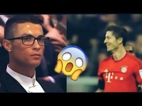 ●»Cristano Ronaldo ogląda film o ★UMIEJĘTNOŚCIACH ROBERTA LEWANDOWSKIEGO★! «●😱😱😱