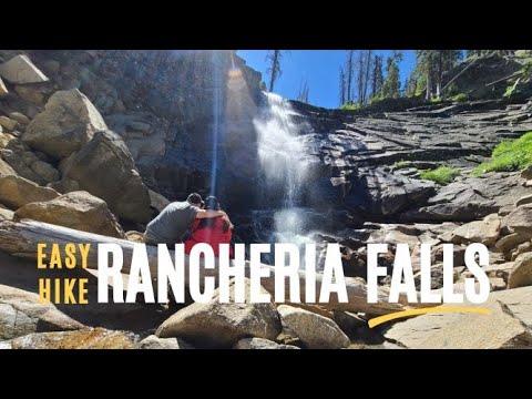 Hiking to Rancheria Falls | Huntington Lake's Most Popular Waterfall | Exploring California