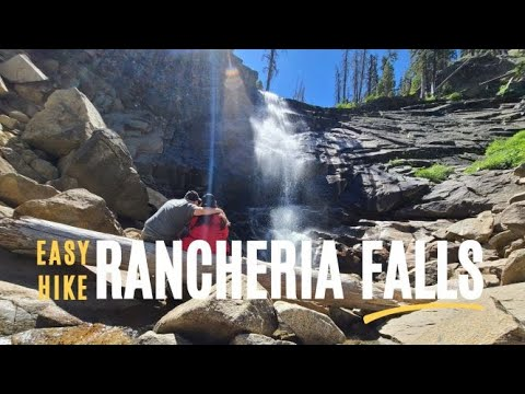 Hiking To Rancheria Falls | Huntington Lake's Most Popular Waterfall | Exploring California