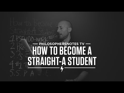 How do i become a straight A student?