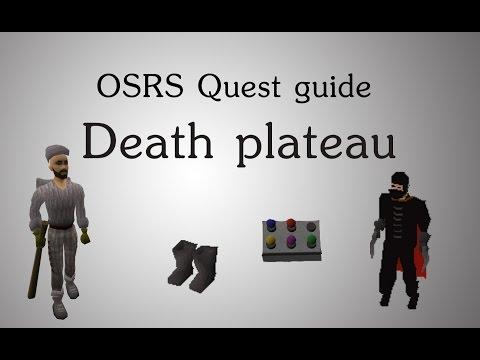 [OSRS] Death plateau quest guide