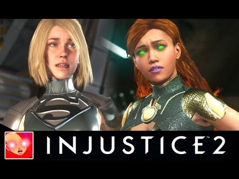 Thumbnail: Injustice 2 - All Saddest Intro Dialogues