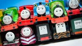 RACE 3 Thomas and Friends TrackMaster Train Collection Fastest Engine Competition