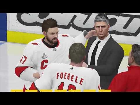 NHL 20 Carolina Hurricanes Stanley Cup Winning Animation