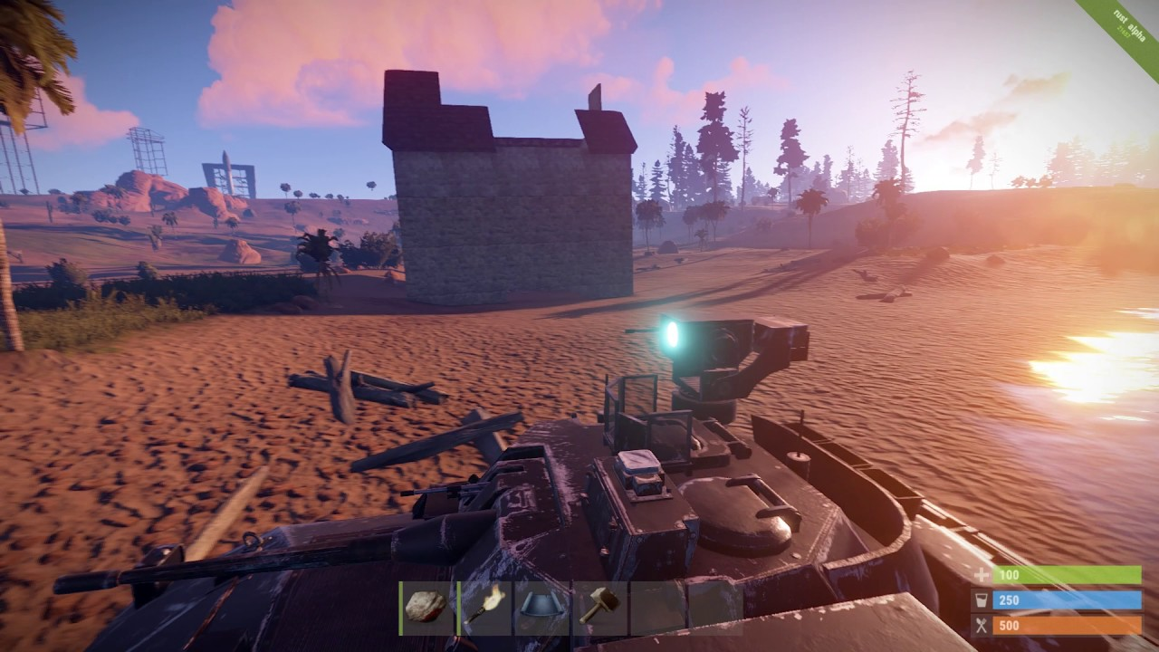 Rust Mod: Tank Commander - Demolition