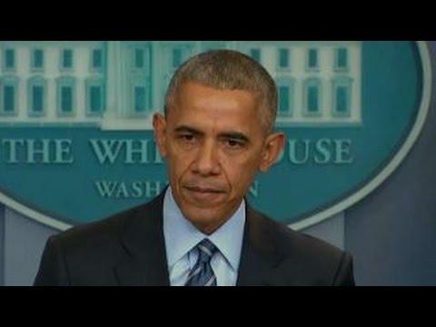 Obama: Assad regime cannot slaughter its way to legitimacy