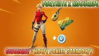 FORTNITE avec le CAT-GIVEAWAY pour le STARTER PACK-NEW WEAPON: Single-shot-Gram with Specters