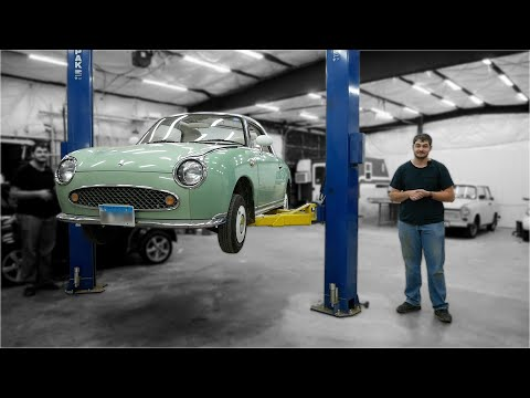 Let's Fix What's Wrong with this Nissan Figaro (feat. Technology Connections)