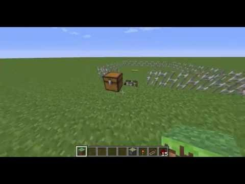 Minecraft Eisenzauntor