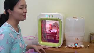 Review máy tiệt trùng và sấy khô tia UV Upang của Hàn Quốc