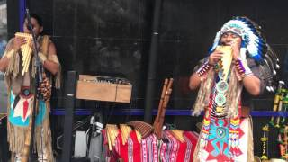 Peruvian Instrumental Music — Live in downtown Florianopolis, Brazil