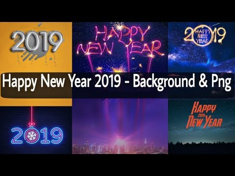 Happy New Year 2018 PNG  background Picsart editing Video
