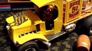Beer Wagon Model Kit