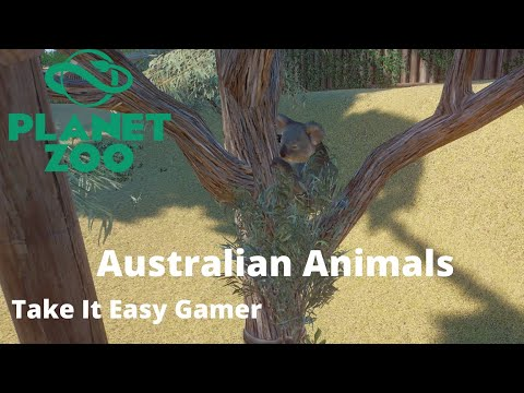 Australian/Oceanic Animals -  Planet Zoo |