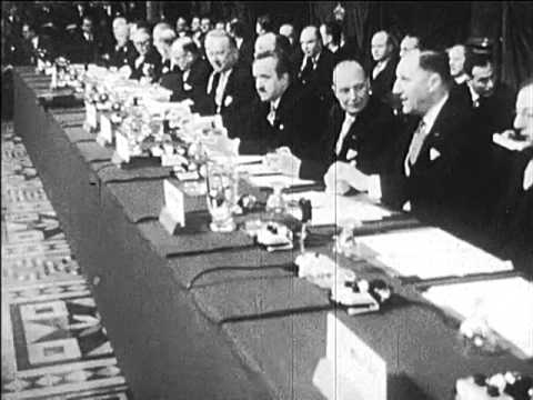 1958: First Council of the EEC