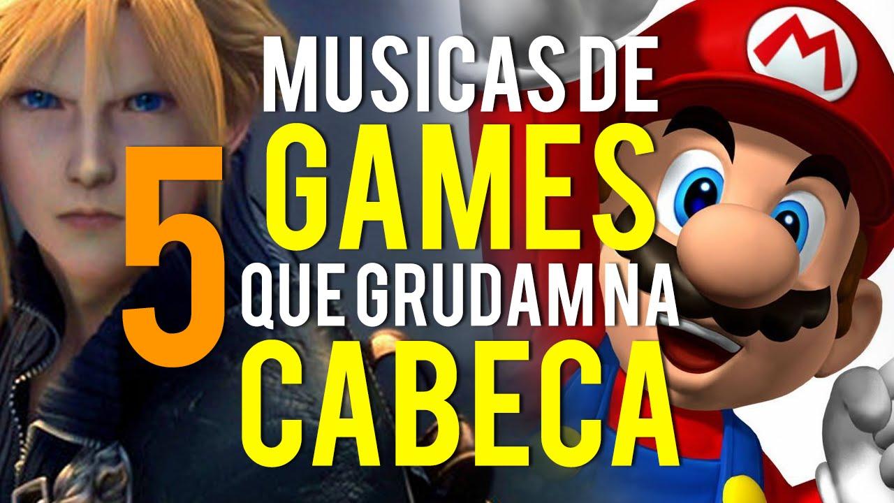 5 músicas de Games que grudam na cabeça