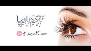 My Secret to Long Eyelashes! (Latisse Review) | HAUSOFCOLOR