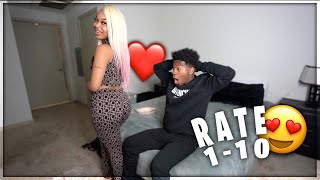 RATING MY GIRLFRIENDS FASHION NOVA OUTFITS FROM 1-10