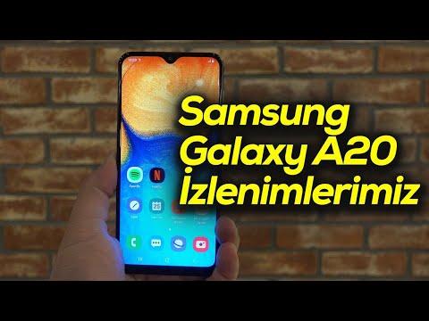 Samsung Galaxy A20 Izlenimlerimiz | Fiyatına Göre Rekabetçi Mi?