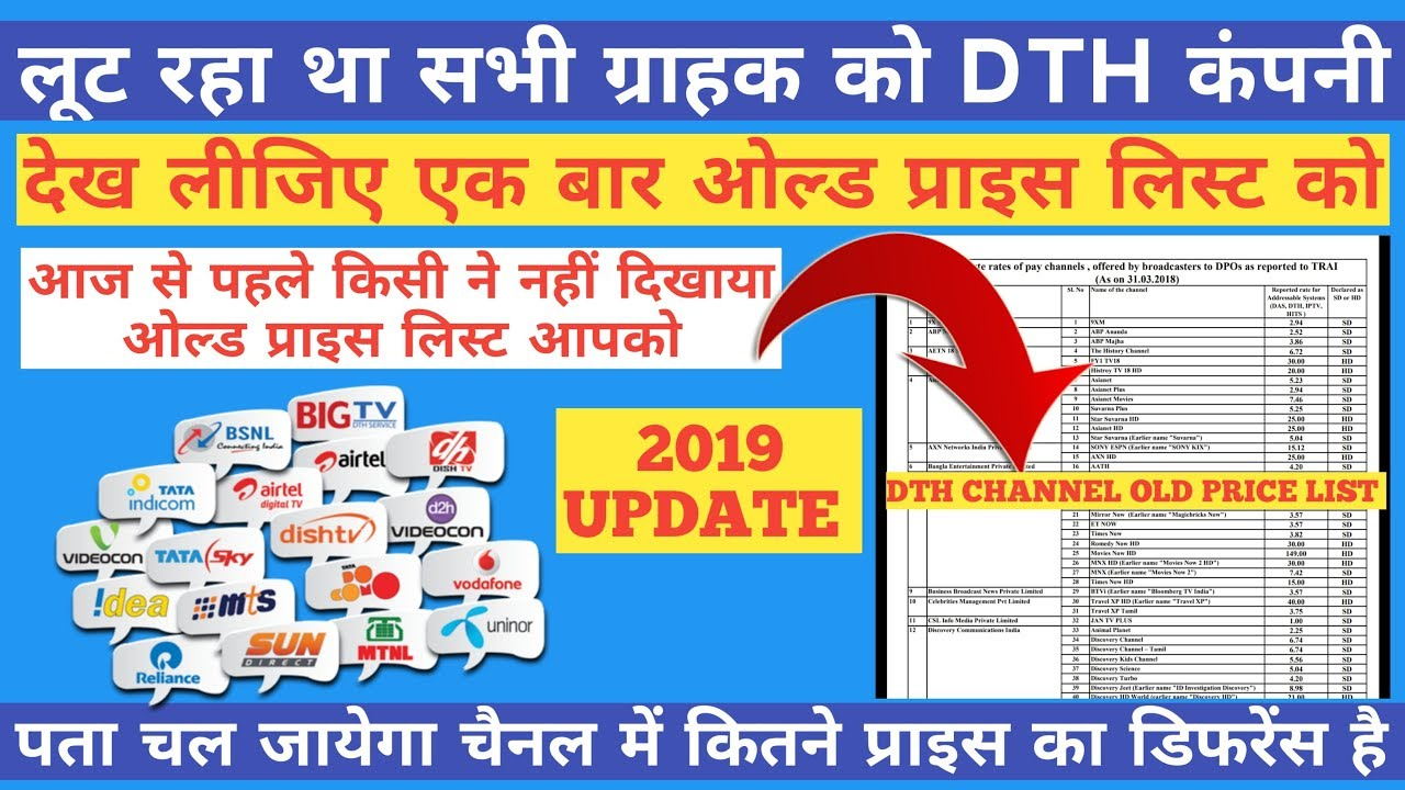 Airtel Dth Channel List Pdf