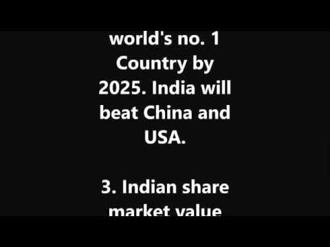 Predictions about Future of India and the World