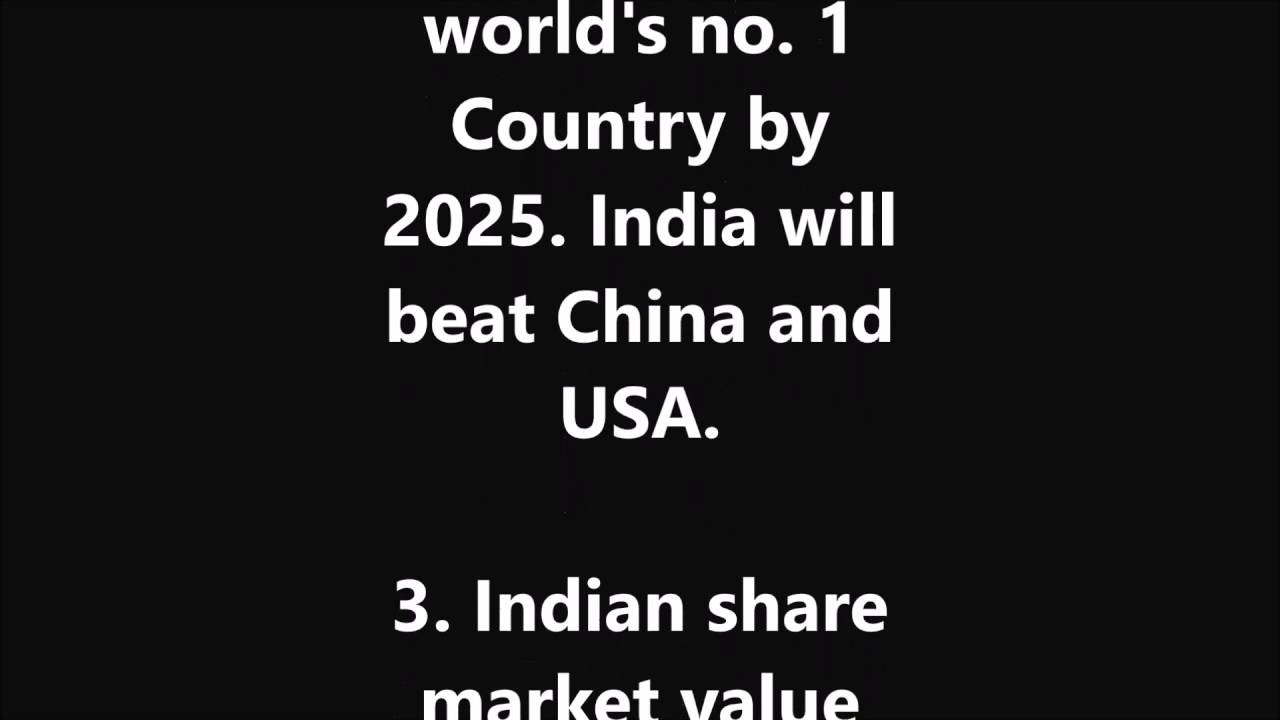 Predictions about future of india and the world youtube publicscrutiny Images