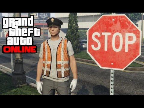 GTA 5 Online - Crossing Guard Outfit Tutorial