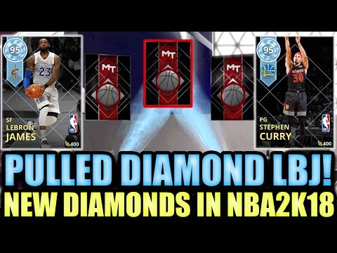 WE PULLED DIAMOND LEBRON JAMES IN THE GREATEST PACK OPENING EVER IN NBA 2K18 MYTEAM