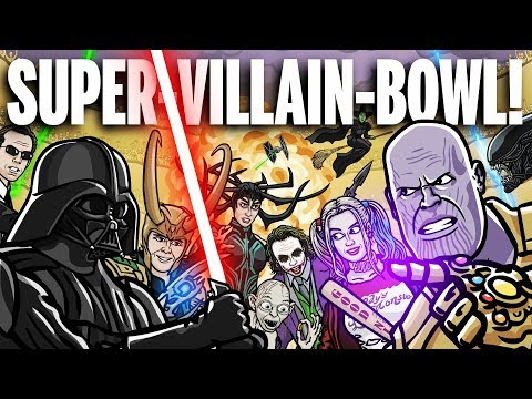 SUPERVILLAINBOWL!  TOON SANDWICH