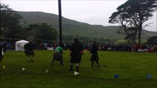 Skye, Portree Highland Games, 5th August 2015  Caber Tossing (Napalm Death soundtrack)