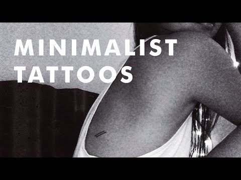 28 Minimalist Tattoos That Will Make You Want To Get Inked