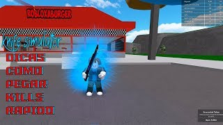 ROBLOX-TIPS FOR NOT MISSES KNIVES (Knife Simulator)