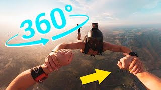 5 Videos mas Increibles en 360 | Mega Roller Coaster Skydiving en 360 Realidad Virtual Kaboomred