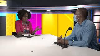 Ferdy Louisy Maire de Goyave est l'invité de Raphaëlle sur ETV (partie 2)