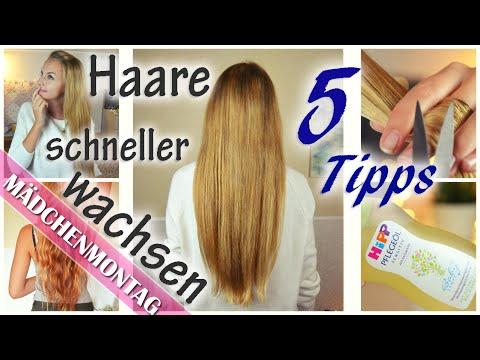 5 Tipps Damit HAARE Schneller Besser WACHSEN Schneiden Ohne