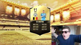 OMG TIF 91 KEVIN DE BRUYNE 🇧🇪  IN PACKS!!!! 😍 ⚽ - FIFA 17 PACK OPENING!!