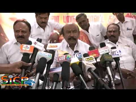 Rajan Chellappa MLA Press Meet at Madurai