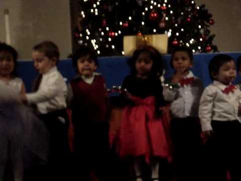 Glendale Montessori School's christmas party 2009
