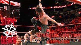 Seth Rollins Curb Stomp Compilation