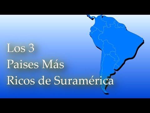 Los 3 Paises Mas Ricos y Desarrollados y Mejores Para Vivir en  Suramerica