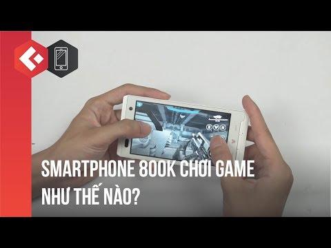 Smartphone 800k chơi Asphalt như thế nào? Test hiệu năng của Fujitsu F08D