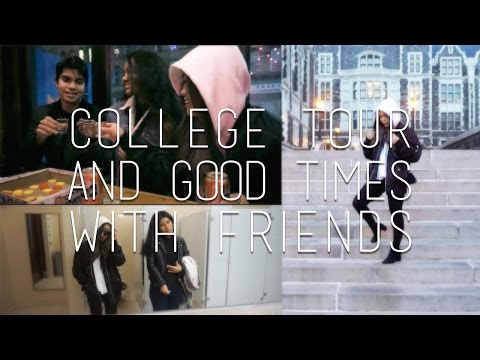 City College of New York Tour & Bar Time with Friends VLOG