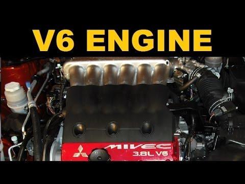 V6 Engine - Explained