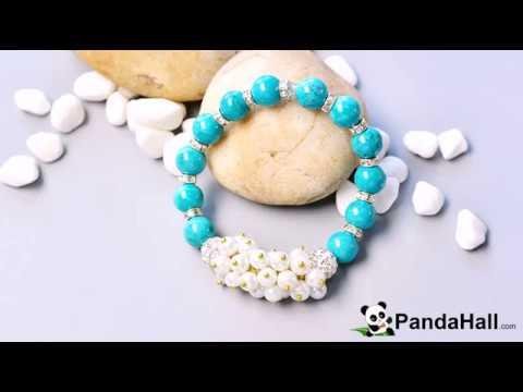 Video 94 P Comment Faire Un Bracelet Avec Perles Turquoise Et