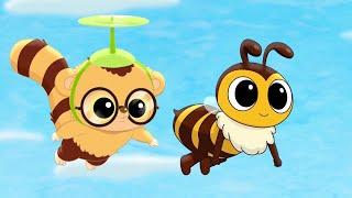 Юху и его друзья - Куда подевались пчёлы? - Мультики для детей